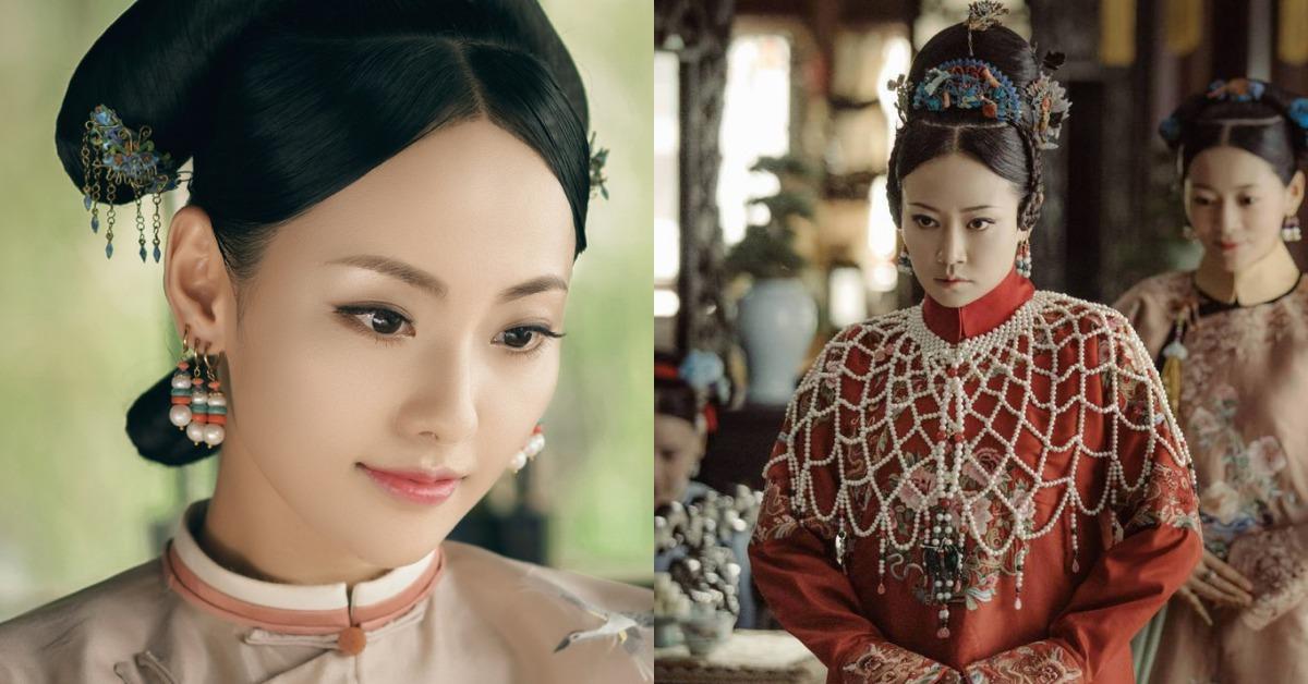 珍珠披肩、多耳環搭配、花朵頭飾!原來《延禧攻略》才是真正的時尚領頭羊