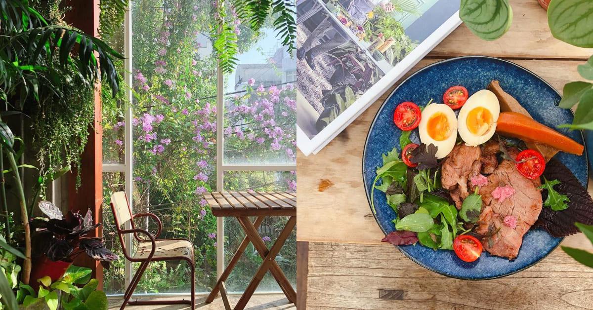 台南早午餐推薦「小北家灶咖」,森林系小屋一位難求,自製天然餐點太享受!