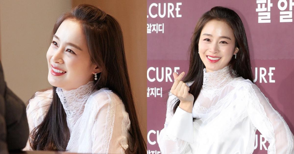 金泰希第二胎產後「完美體態」首亮相!韓國第一天然美女保養方法大公開