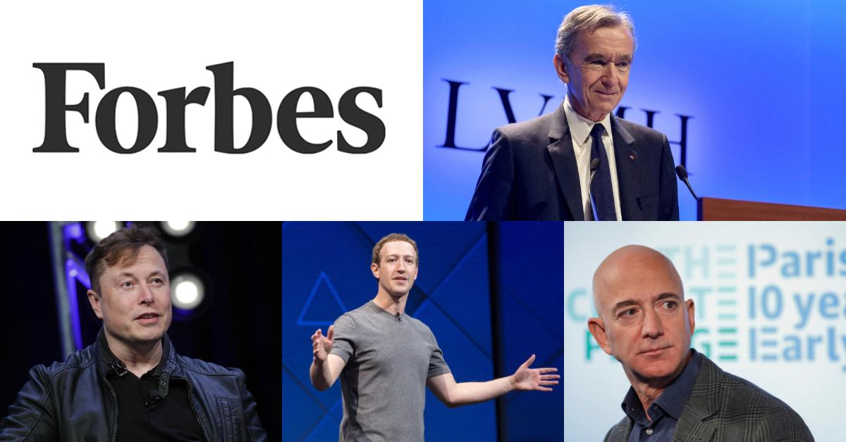 2020《富比世》前20大富豪榜出爐!時尚巨頭一躍前三,熟面孔地位屹立不搖,億萬身價讓人好羨慕