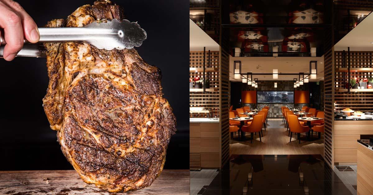 台北晶華酒店《ROBIN'S Grill》全新風貌登場!60盎司超大戰斧牛排豪邁上桌