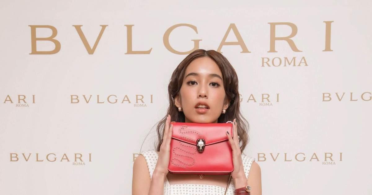 陳庭妮出席 BVLGARI 春夏配件預覽,用包款演繹專屬於她的時尚魅力