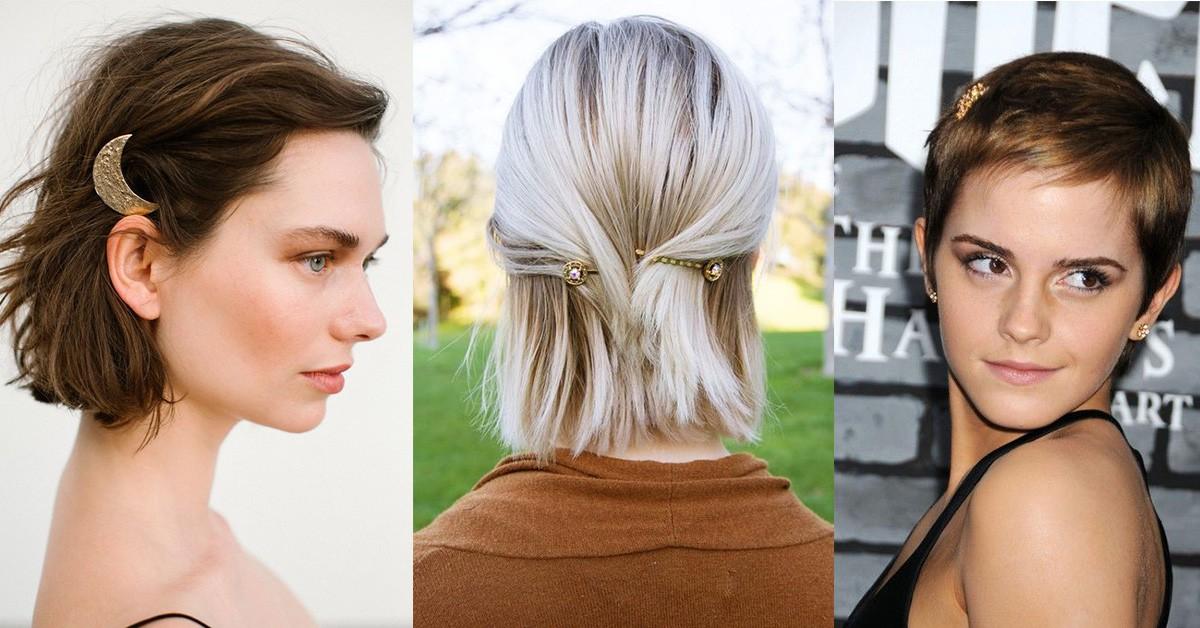 短髮也能駕馭5款「髮夾造型」推薦!懶女人髮型救星、手殘者隨便用都好看