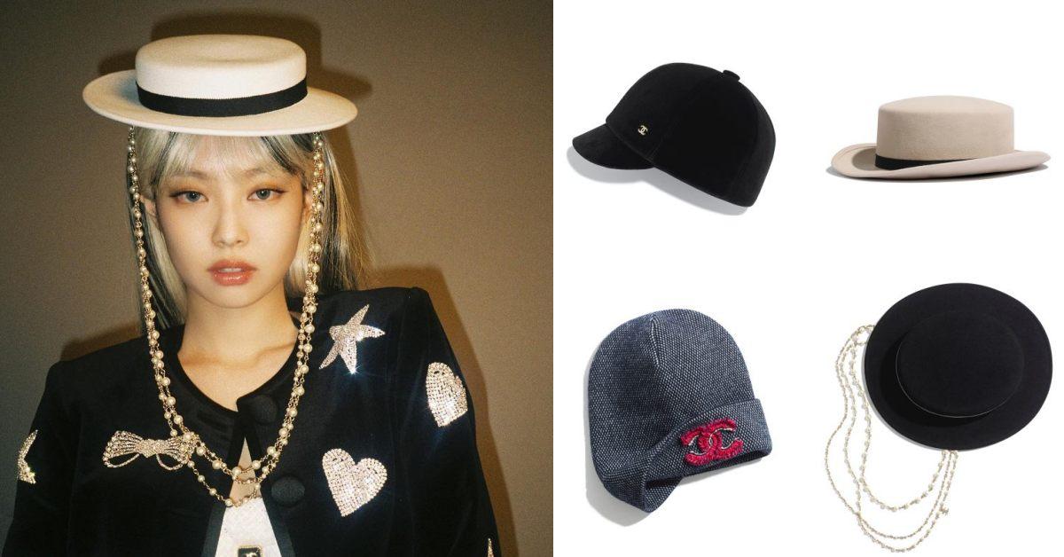 "Chanel包包遇""對手""!BLACKPINK Jennie「珍珠紳士帽」迷死人,這10頂帽款讓妳不輸她"
