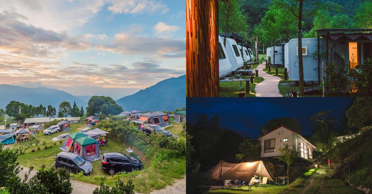 北部「懶人露營」推薦這5處!「飛鳥恰恰」一泊五食太享受,「飛鼠不渴」位在海拔900公尺