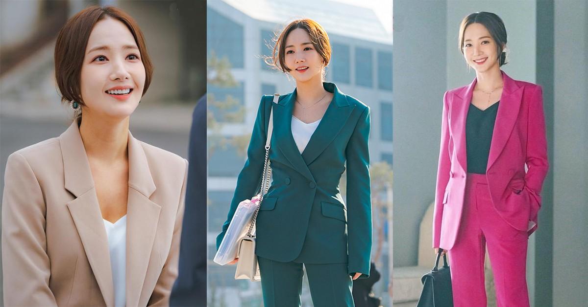 OL一定要擁有!朴敏英《她的私生活》網民熱搜西裝穿搭,全來自這「兩個品牌」