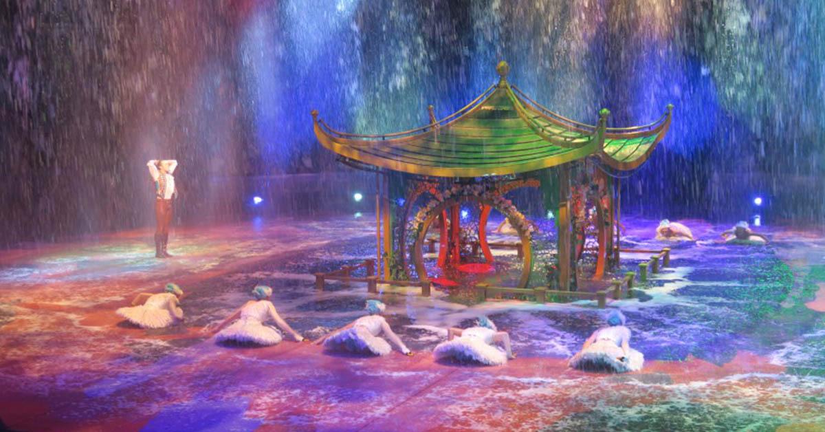 【澳門】澳門新濠天地水舞間表演懶人包,交通、網上購票、紀念品總整理,一覽億萬打造的頂尖水池舞台!