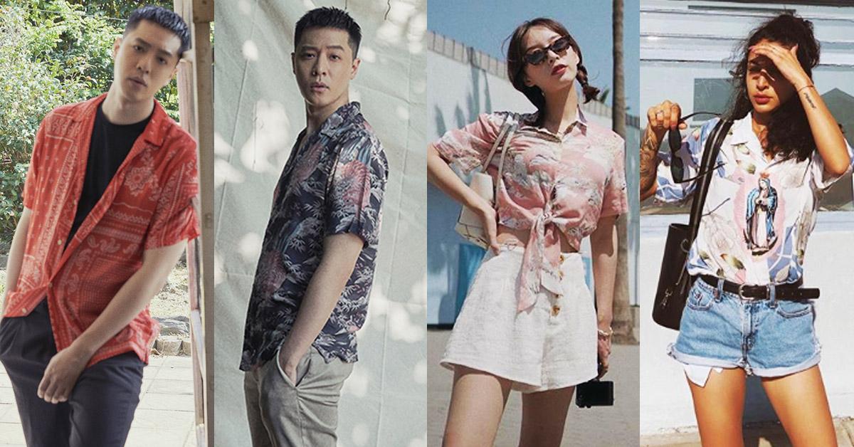 「男友襯衫」今夏一定要入手!除了周湯豪登封的AllSaints印花襯衫外,這幾件也超百搭!