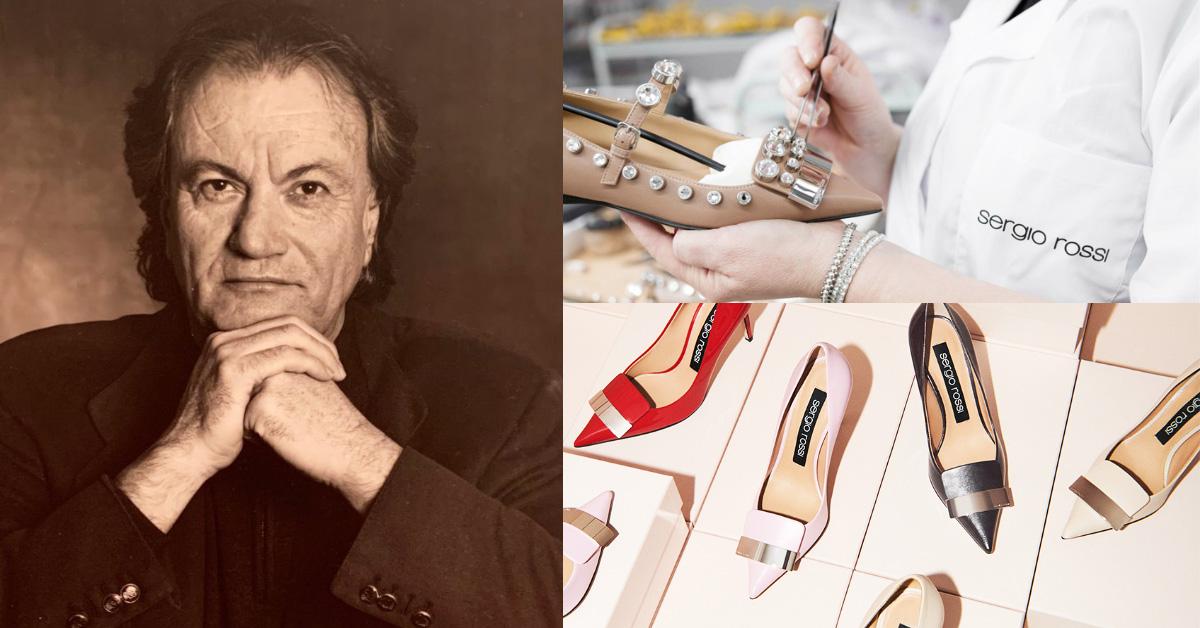 時尚圈噩耗!義大利傳奇鞋王Sergio Rossi病逝享壽84歲,首名死於新冠肺炎的時尚界重量級人物