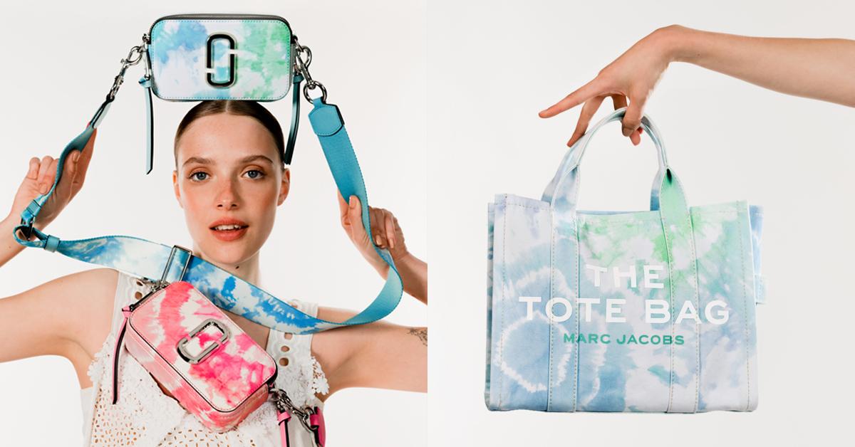 Marc Jacobs相機包沾到水彩更酷!百搭托特包、慢跑鞋,2021春夏「渲染配件」系列最低1萬元入手