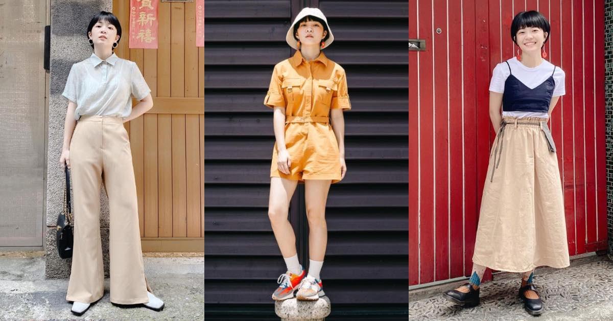 小隻女孩網紅Meg穿搭靠5單品表現好比例!高腰喇叭褲長出10公分不是問題,低腰連身裙好穿又顯高