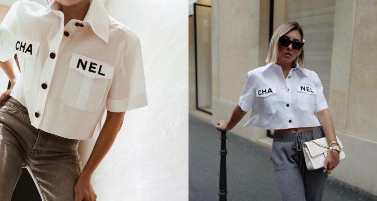 無敵可愛的工作服感!Chanel這件襯衫讓部落客們搶瘋,不買包也值得