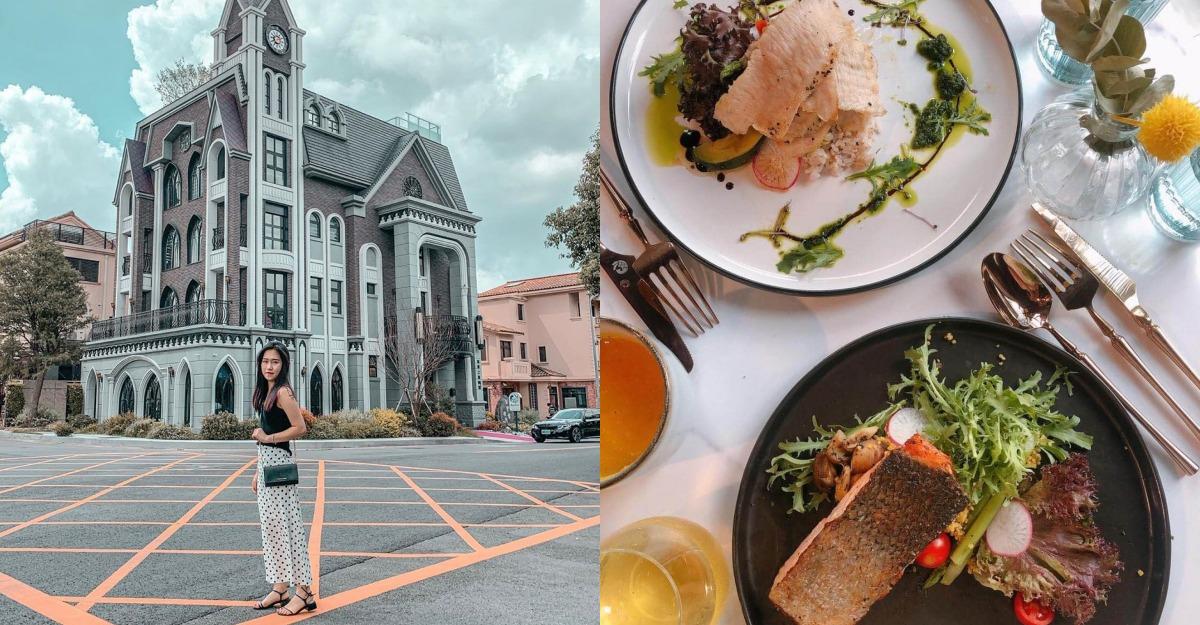 不許再說桃園無聊了!最美咖啡廳「邸家咖啡」成打卡熱點,偽出國歐洲美照來這裡拍!