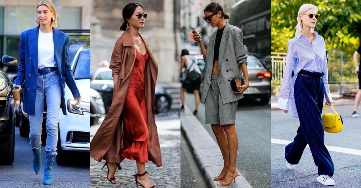 2020年春夏6大趨勢總整理!「男友襯衫、睡衣外穿」回來了,Oversize西裝繼續買!