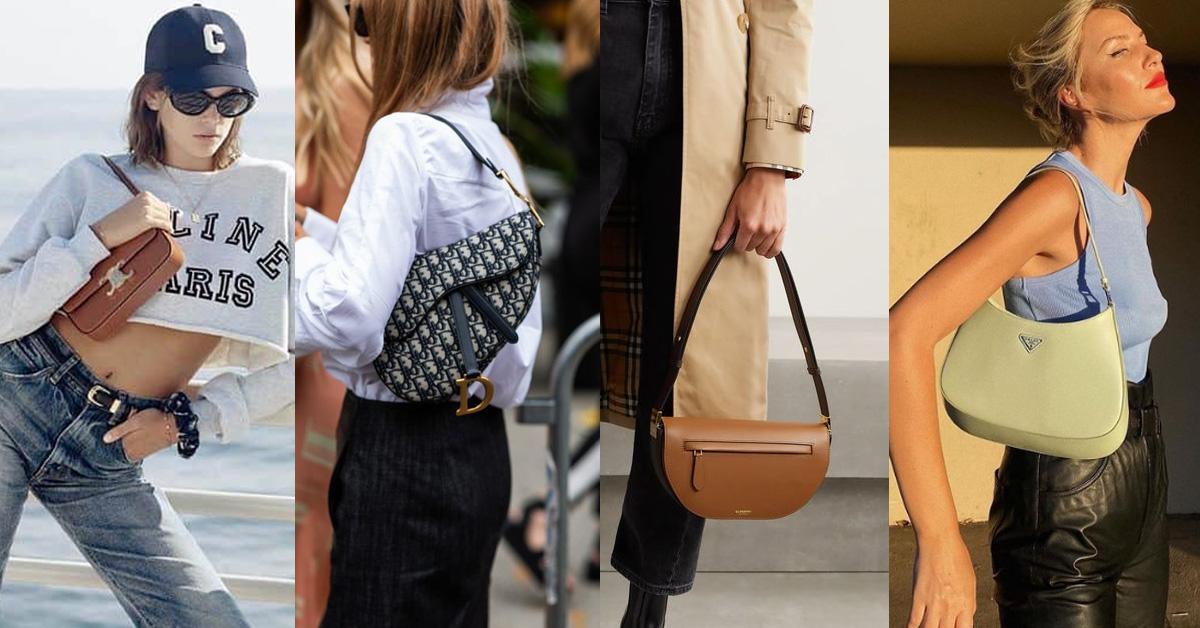 「腋下包」推薦Top 9!BV、LV、Dior、Gucci 、Tod's...春夏IT Bag女孩必備