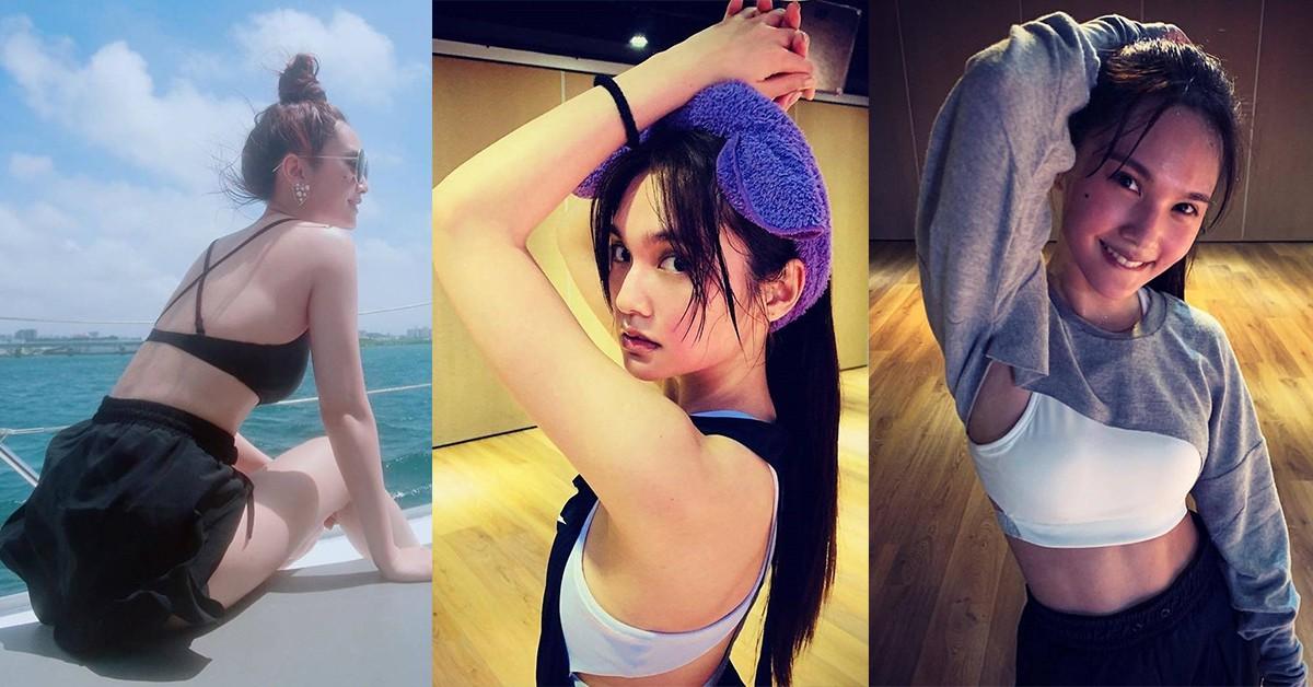 35歲楊丞琳身材宛如少女!驚人腹肌線條、蠻腰的瘦身秘訣是「這個」