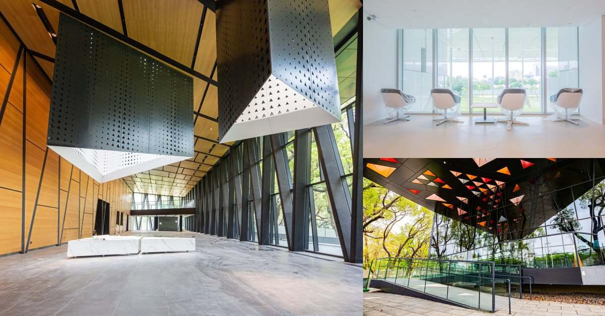 最美圖書館在南台灣!屏東總圖書館30年老建築新樣貌,打造讓台北人也羨慕的圖書館!