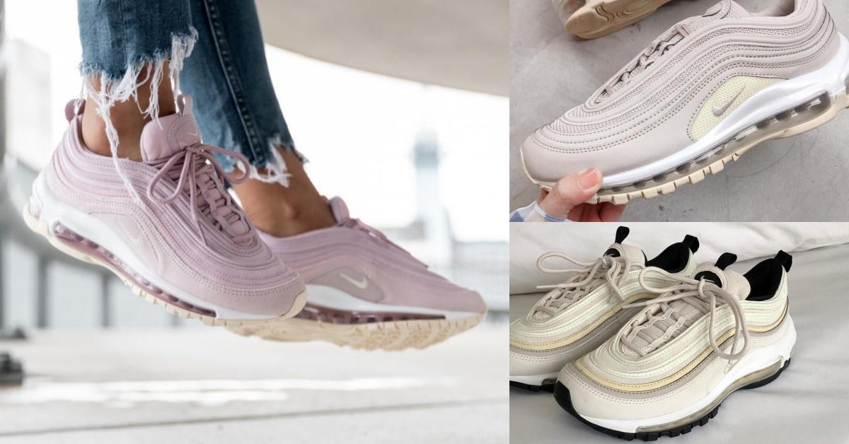 球鞋控必備這雙!Nike Air Max 97女孩5種愛色盤點,看完保證荷包失守