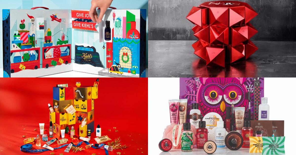2018聖誕即將來臨!這些品牌月曆讓你一次擁有人氣產品,陪你開心倒數!