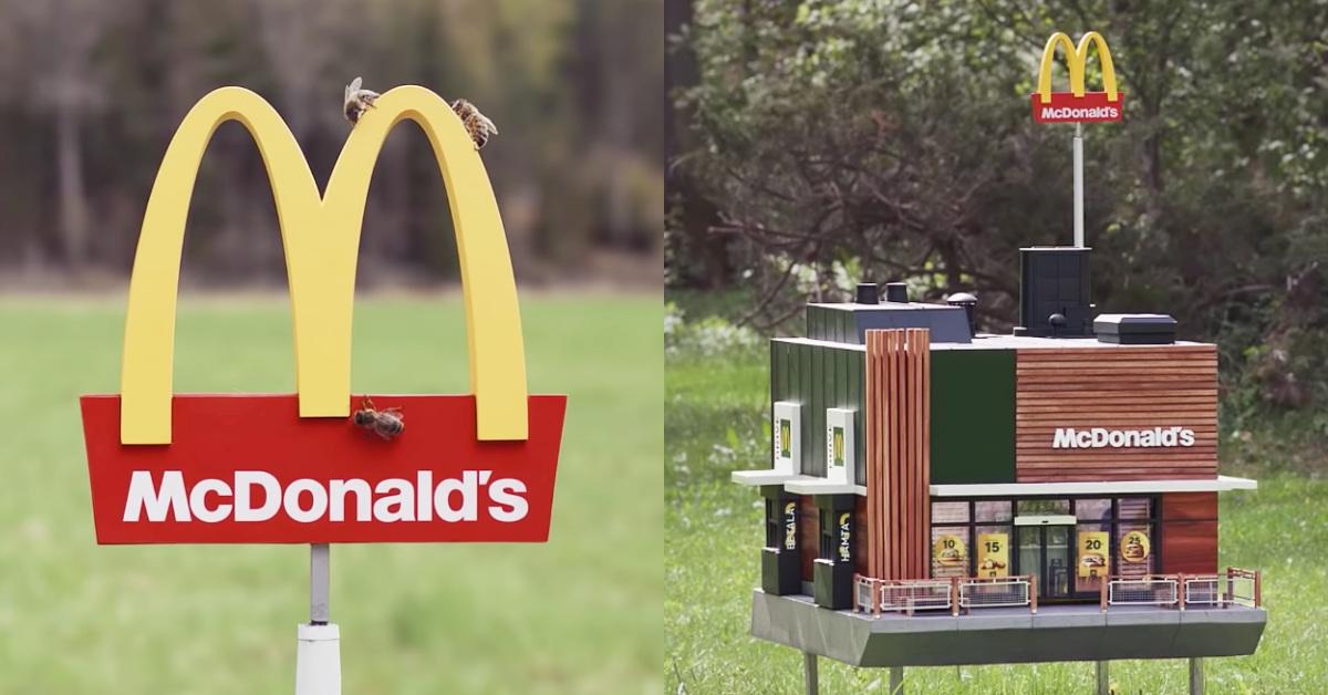 全球最迷你的麥當勞「McHive」登場! 網:「簡直是原版用縮小燈照過!」