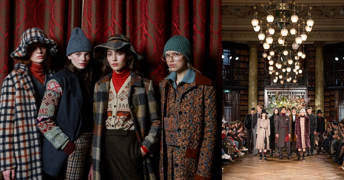 向經典致敬!DAKS 2020秋冬穿搭「英式工藝」是關鍵!細膩格紋、奢華絨布,每件都想收藏