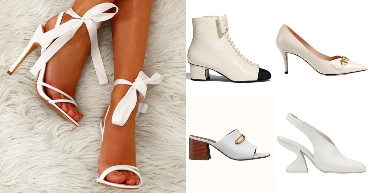 2021白色跟鞋推薦Top 8!Hermès、Chanel、LV、YSL...Celine瑪莉珍鞋IG炒翻