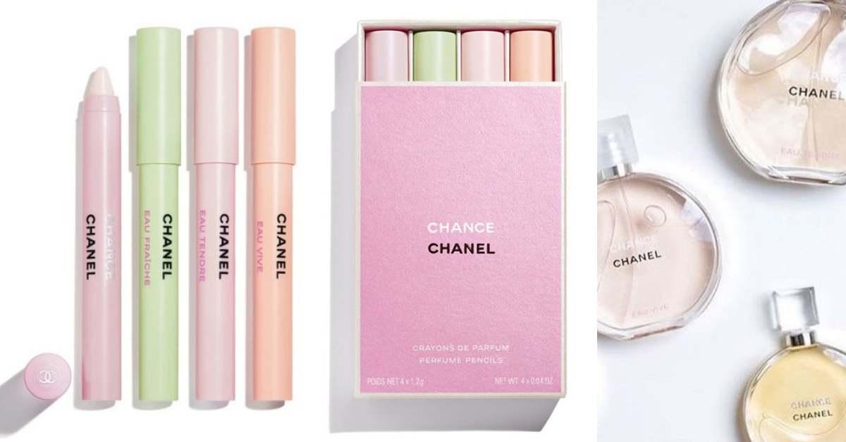 香奈兒推出色彩繽紛「香氛筆」!粉色煙盒造型把四種經典香水一次帶著走