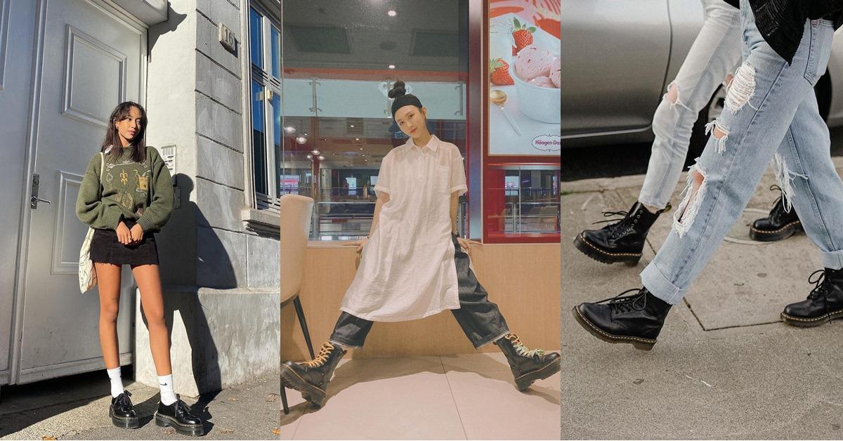 馬丁靴也有黃金比例?腿型、腳型簡易3招挑出最適合你的馬丁靴