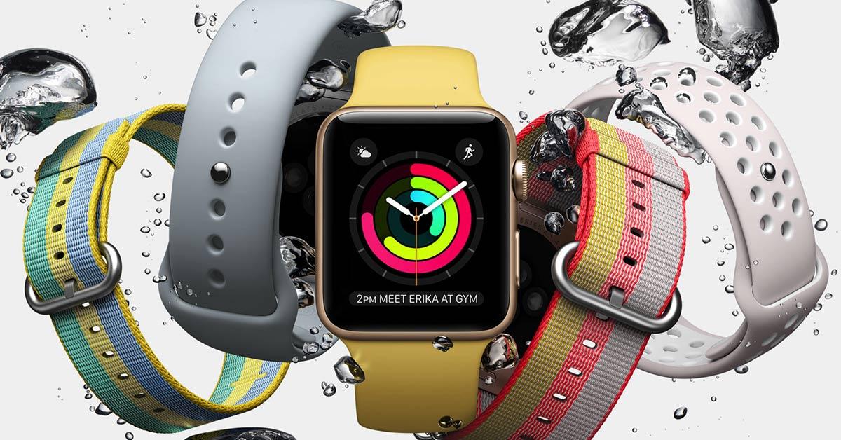Apple Watch 3 LTE 5月在台上市,一號雙機輕鬆連網更便利