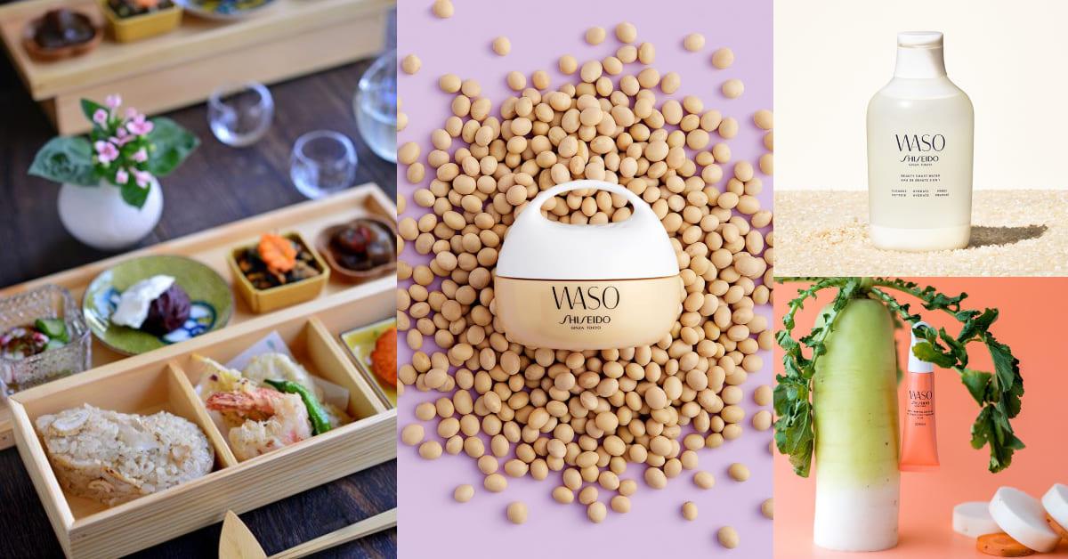 納豆竟是抗痘、控油高手!資生堂天然抗敏護膚系列,把日式和食料理變保養