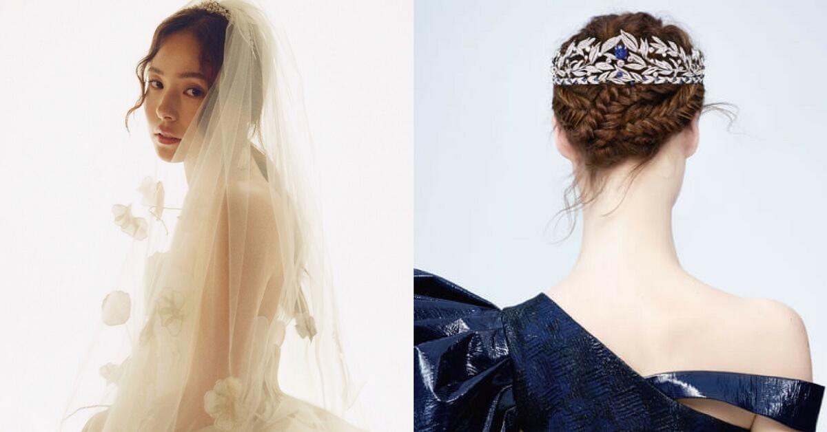 CHAUMET讓閔孝琳成為最美的新娘,巴黎皇室珠寶新一季形象告訴你:「原來妳也可以這樣戴珠寶!」