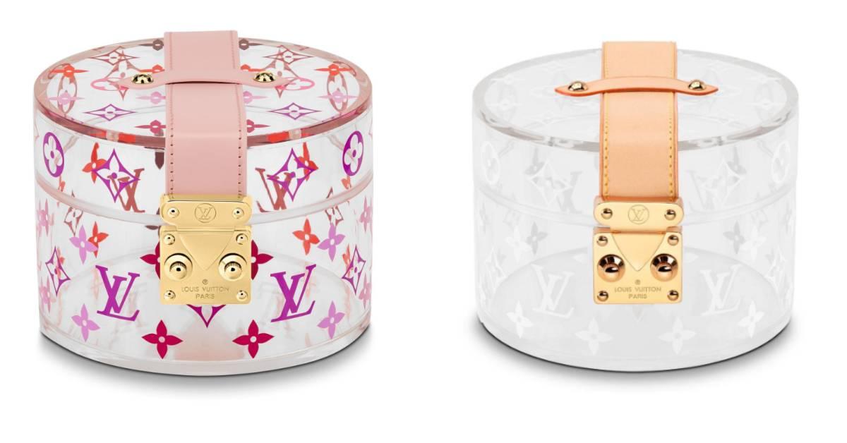 LV不只推化妝箱,這款珠寶盒也來放火!櫻花、透明兩款配色美死啦!