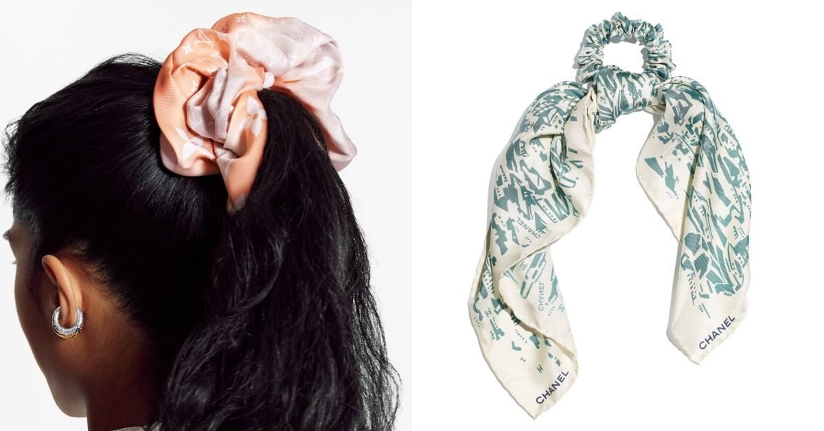 視訊造型必備髮飾Top10!Chanel 、Gucci、LV...Celine「印花大腸圈」還可當手環