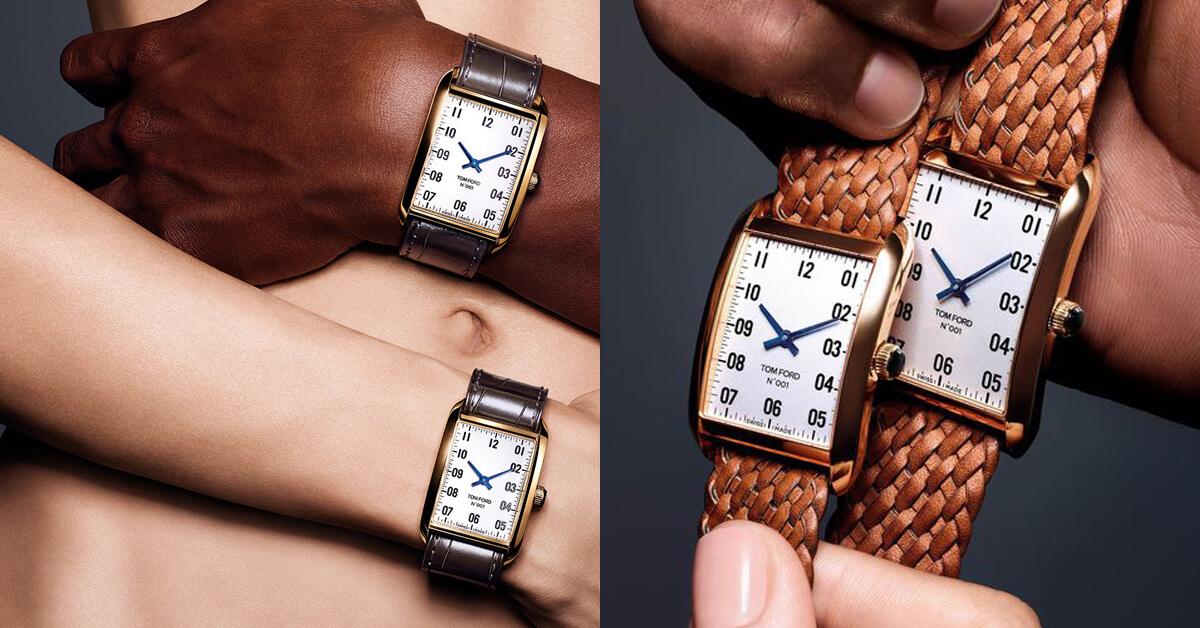 時裝、彩妝、香水、電影後,如今TOM FORD再次玩過界!正式進軍奢侈鐘錶市場!