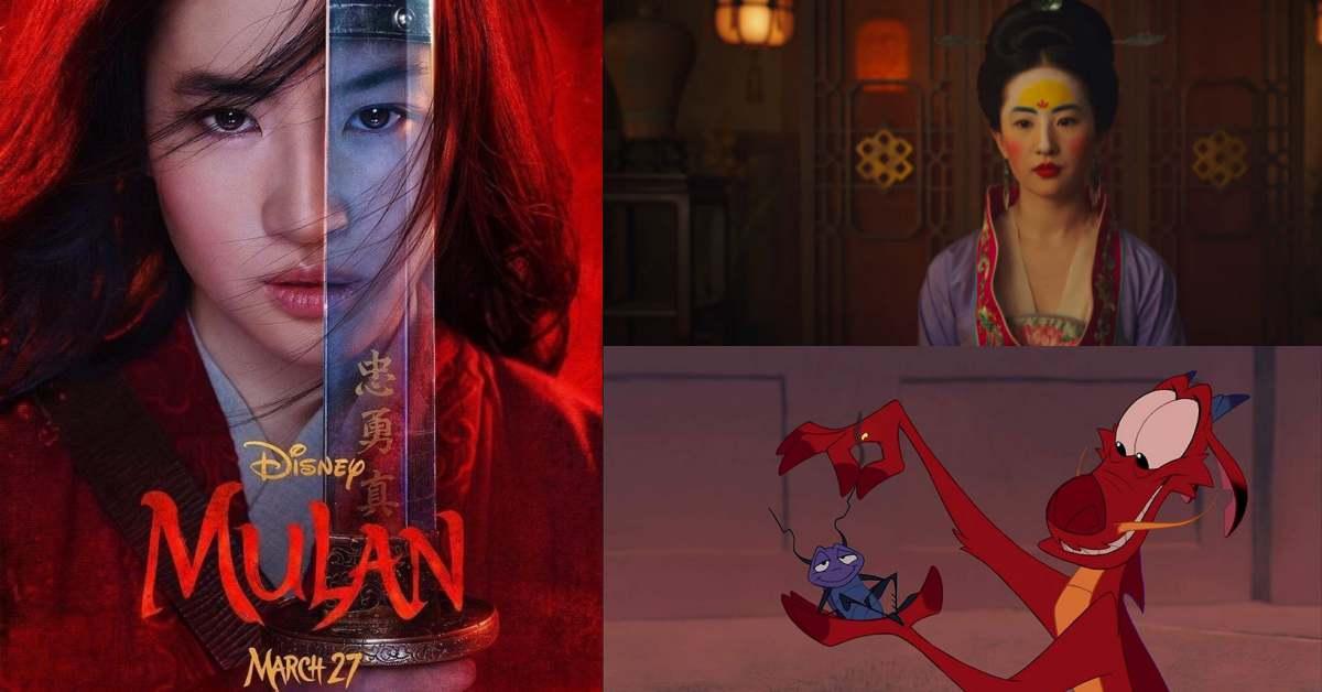 迪士尼真人《花木蘭》預告,劉亦菲變身最仙木蘭!鞏俐、李連杰與甄子丹也出演