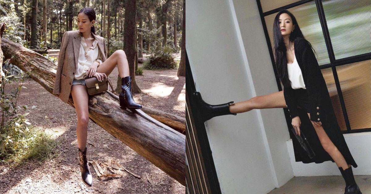 孫芸芸穿搭重點在「美腿」!短靴挑選掌握4大方向,視覺身高激增+10cm!