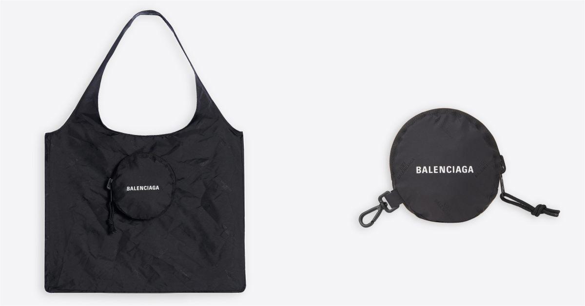 Balenciaga包包推薦這款「購物袋」!萬元隨身尼龍帆布包,買菜、逛街都時髦!