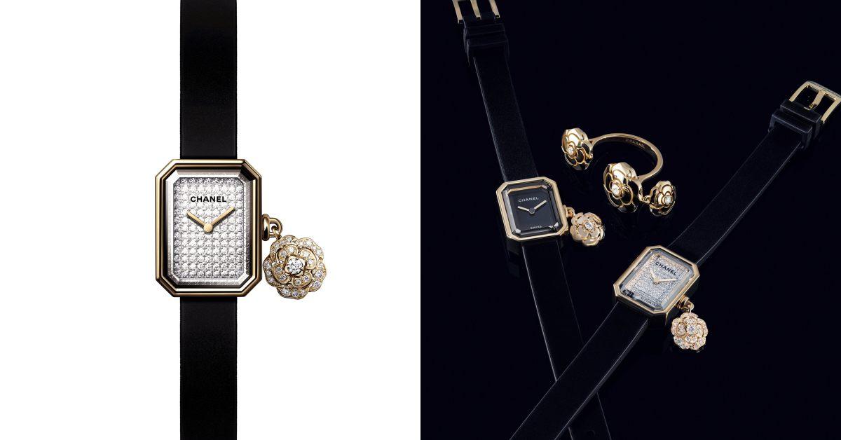 Chanel手錶首推Première!品牌第一支手錶推出山茶花吊飾新款,小香迷怎麼能不收藏?