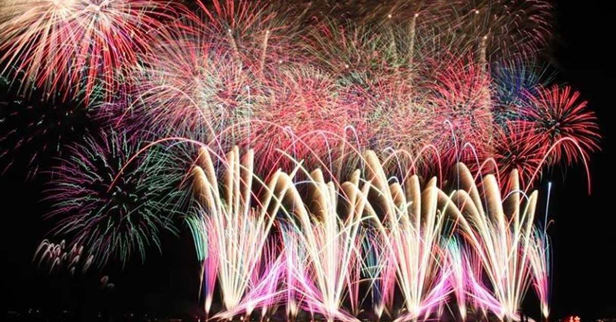 日本最大的盛夏煙火!沖繩「琉球海炎祭」4月盛大登場