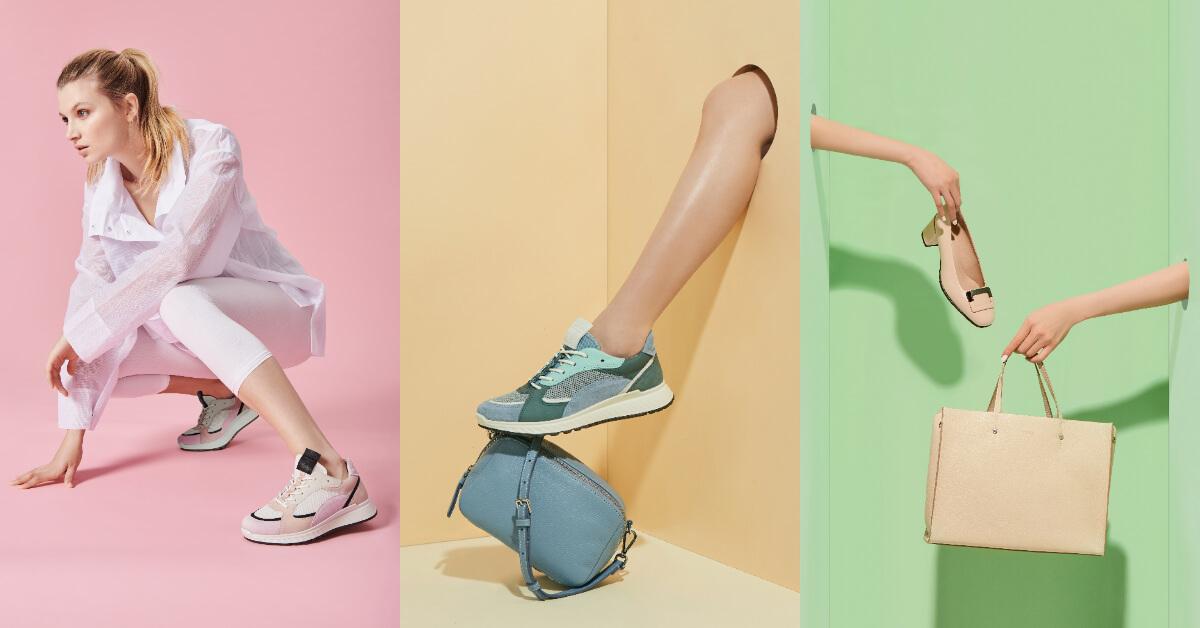 2020春夏鞋包配件就要選「繽紛糖果色」!棉花粉、薄荷藍、牛奶裸,一秒攻陷少女心