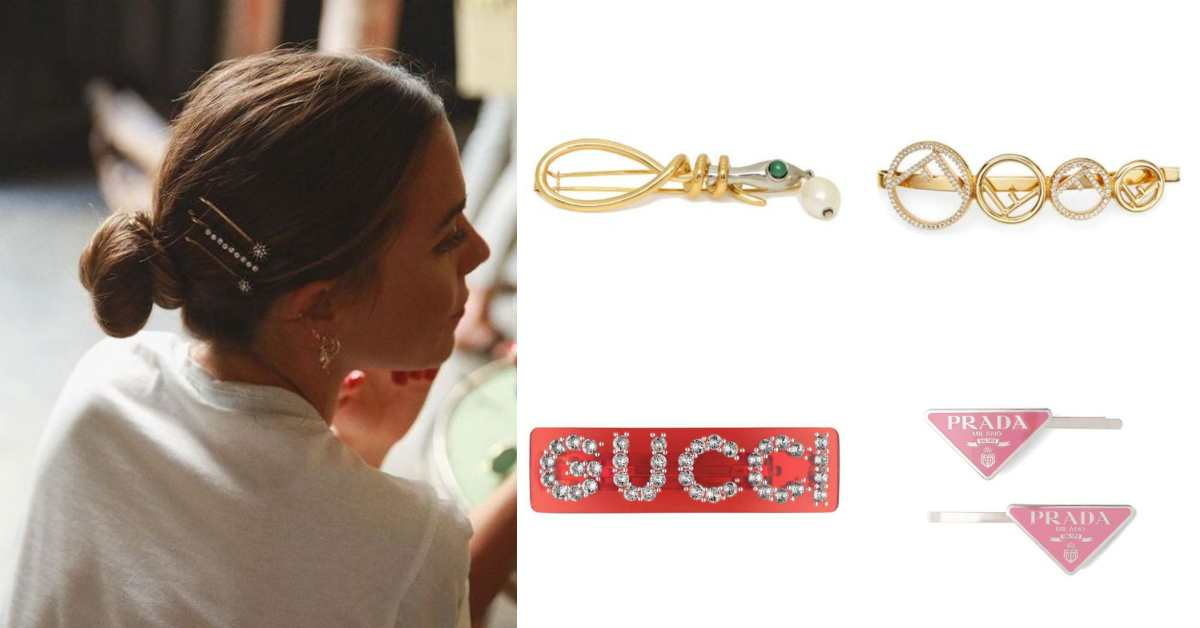 時髦單品就在奶奶房間裡!從LV、Dior到Gucci這11大品牌髮飾真的太美,春夏髮型就靠它來加分!