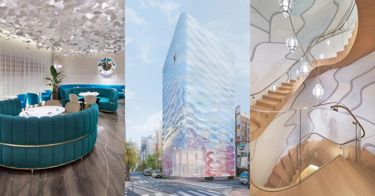 LV銀座專門店換新裝!絕美波光未來感外觀、七層樓藝術感空間,東京地標再加一!