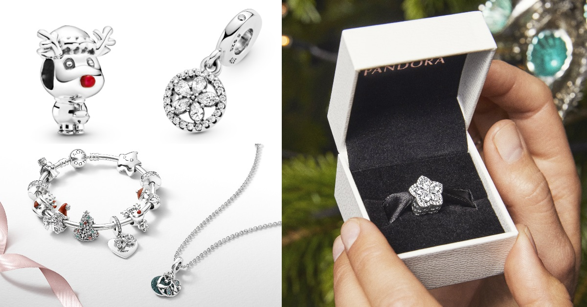 Pandora飾品聖誕限量登場!編輯精選「2000元有找」5款銀飾,小資女也能輕鬆入手