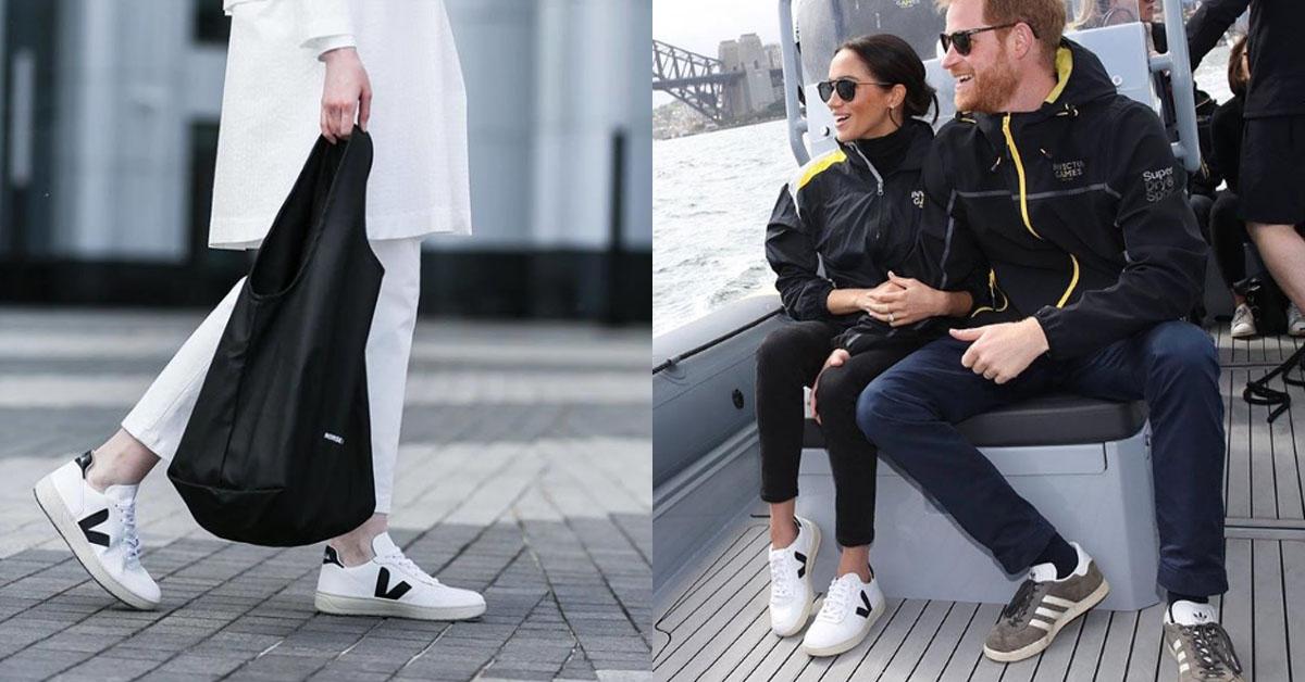 連梅根馬克爾都穿上Veja跟王子曬恩愛了,這幾雙「國民小白鞋」牌子你真的不能不追!