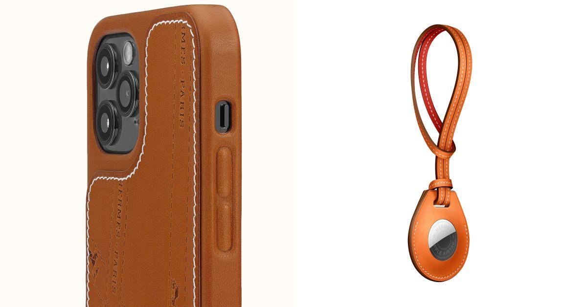 Hermès OK繃後再出新品!第一款iPhone手機殼、AirTag保護套... 送給3C控女孩