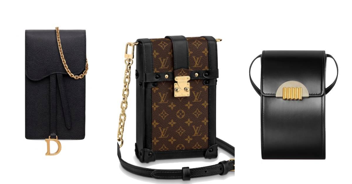 水桶包、托特包請退位!2019下半年LV、Dior到BV的菸盒包、手機殼包才是大勢