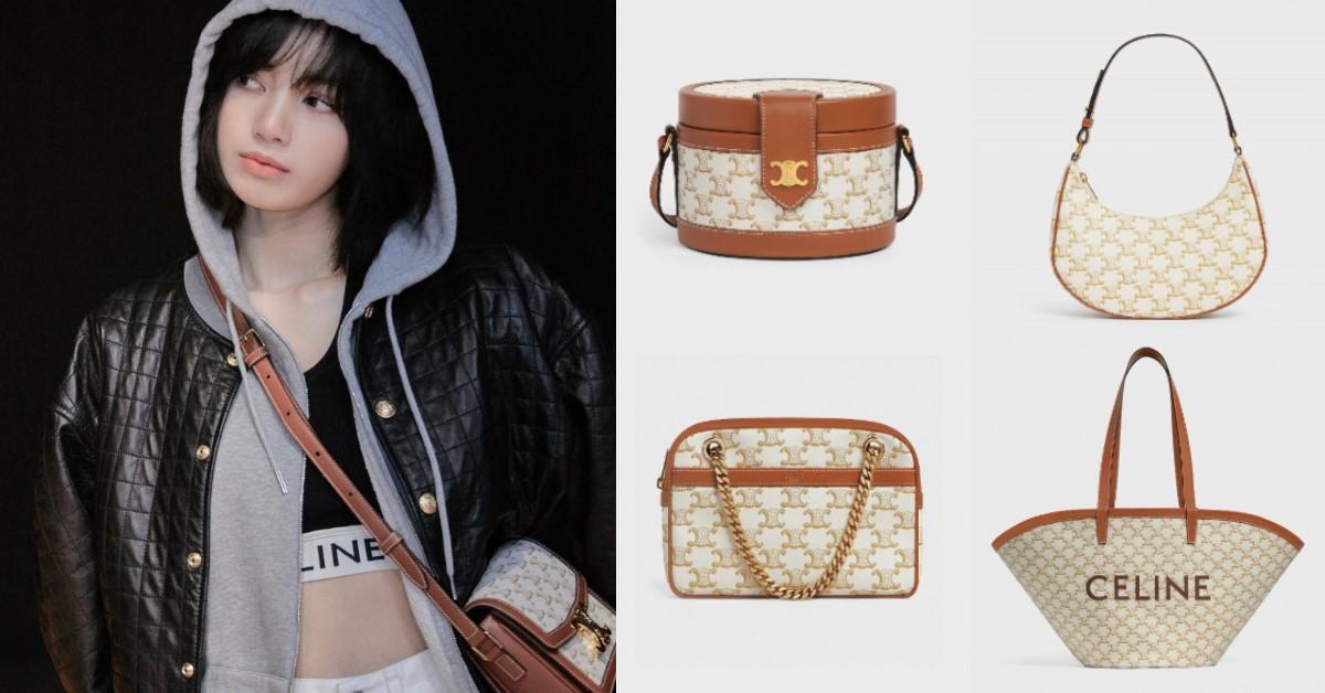 Celine白色帆布系列一次看!連BLACKPINK Lisa也搶揹, 最便宜不到4萬就能入手!