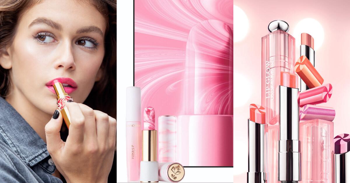 潤色護唇膏也要高顏值!Dior, YSL RMK, 蘭蔻夾心大理石紋美哭必收