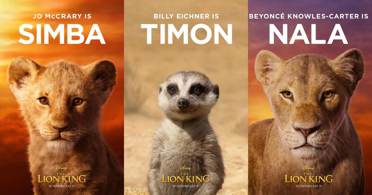 迪士尼動畫真人版《獅子王》!壯闊風景、天后獻聲、超萌主角3大看點整理