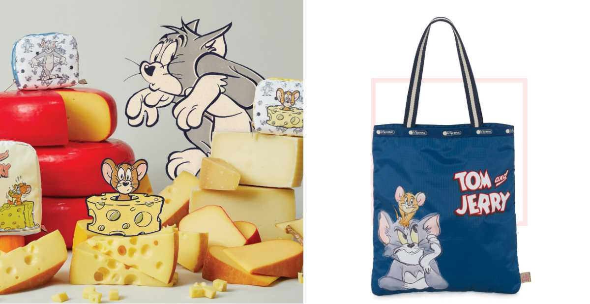 回憶滿滿!《湯姆貓與傑利鼠》跳上「這款」包包繼續追趕跑跳碰